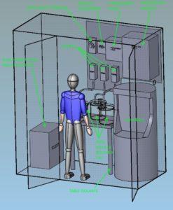 Exemple Etude conception de machine spéciale en 3D