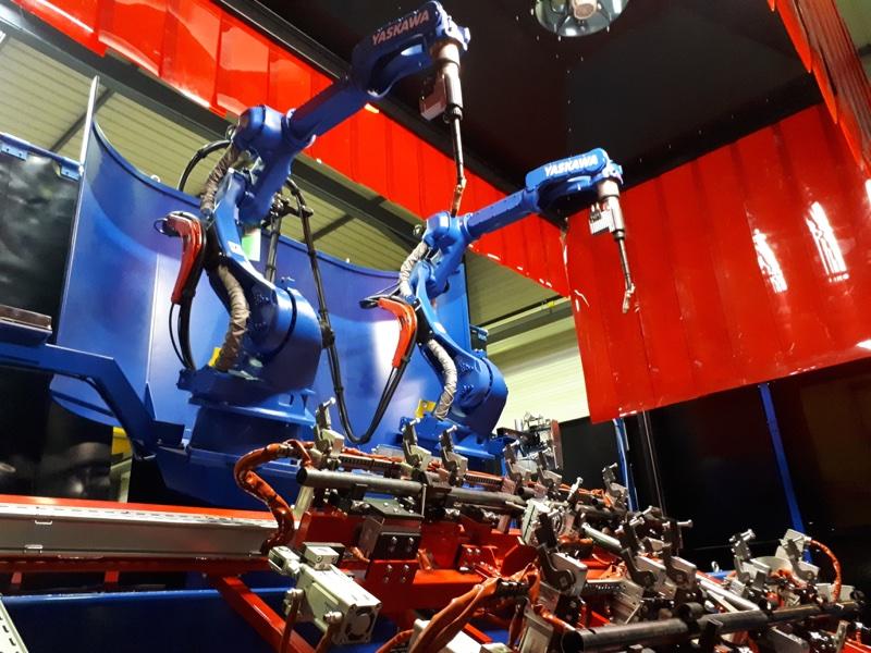 Intégration robotique industrielle dans process usine
