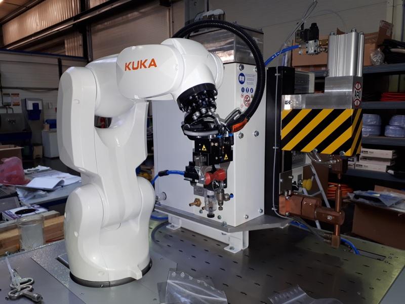 robot industriel robot de soudage tig