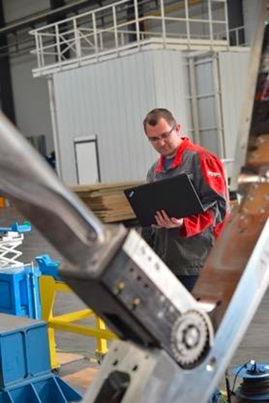 service technique pour les industriels