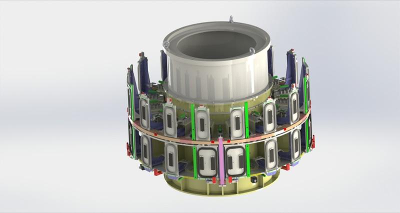 Vue 3D d'un prototype soudage FSW
