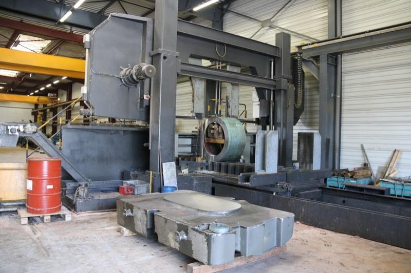 Découpe métal de grosse pièce exemple accumulateur de pression