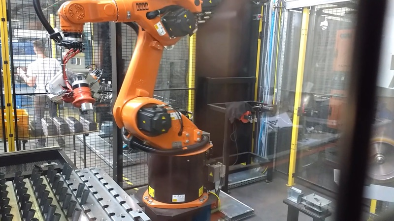 automatisation industrielle exemple