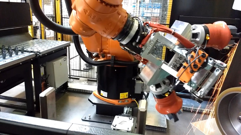 automatisation industrielle par la robotique