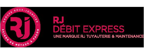 Logo de notre société de découpe de métal à façon RJ Débit Express
