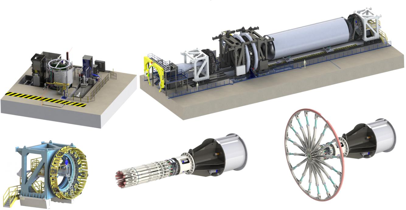 Ligne de fabrication et assemblage par soudage FSW par RJ Industrie