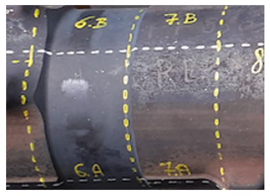Réalisation d'une découpe pièce titane aéronautique