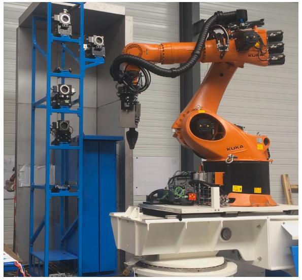 conception réalisation ilot robotisé de démantèlement nucléaire