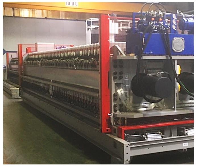 Montage de machine industrielle