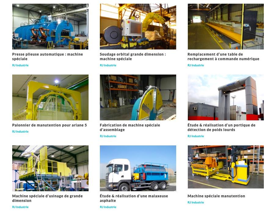 machines spéciales par RJ Industrie
